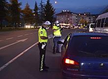 Ordu'da bin 179 sürücüye ceza