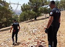 Ormandan çığlık sesleri polisi harekete geçirdi