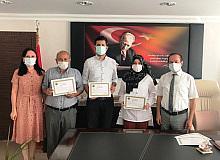 Pandemi sürecinde görev yapan personellerimize başarı belgesi