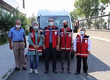 Psikososyal destek ekibi Sinop'a uğurlandı