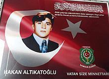 Şehit Hakan Altıkatoğlu mezarı başında anıldı