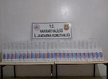 Şemdinli'de 9 bin 500 paket kaçak sigara ele geçirildi