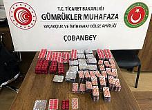 Sınır Kapısında kaçak ilaç ve sigara yakalandı