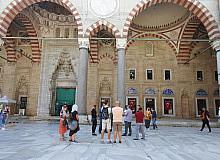Turist rehberler, Selimiye'ye hayran kaldı