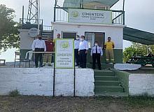 Vali Aktaş'tan Çimentepe Yangın Gözetleme Kulesi'ne ziyaret
