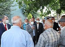 Vali Demirtaş, Derik ve Mazıdağı ilçelerinde incelemelerde bulundu