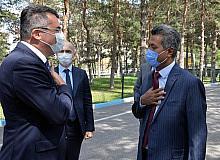 Vali Okay Memiş, Sri Lanka Büyükelçisini ağırladı
