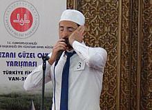 Van'da Ezanı güzel okuma yarışması Türkiye finali yapıldı