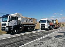 Yozgat'tan Kastamonu'ya araç ve personel desteği