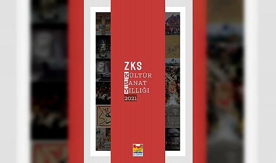 """""""ZKS Kültür Sanat Yıllığı 2021"""" yayımda"""
