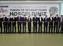 11. Van Doğu Anadolu Uluslararası Turizm ve Seyahat Fuarı kapılarını açtı