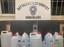 39 litre kaçak alkol ele geçirildi