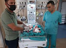 4 ayda ikinci kez üçüz bebek sevinci