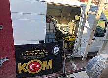 Aksaray'da bin 500 litre kaçak yakıt ele geçirildi