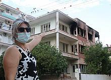 Alev alev yanan 'bimekan rezidans', mahalleliyi çileden çıkardı
