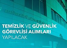 Atatürk Kültür Dil ve Tarih Yüksek Kurumu'na Temizlik Görevlisi ve Güvenlik Görevlisi Alımı Yapılacak