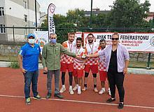 Ayak tenisinde Atakum Amazonspor birinci oldu