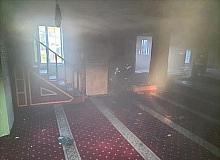 Camide korkutan yangın