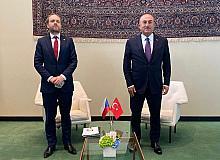 Dışişleri Bakanı Çavuşoğlu, Çekya Dışişleri Bakanı Kulhanek ile bir araya geldi