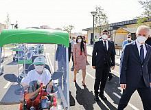 Gül ile Fadıloğlu, trafik eğitimi alan öğrencilerle buluştu