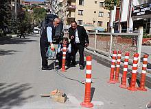 Hakkari Belediyesinden duba çalışması