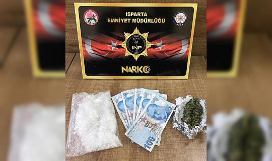 Isparta'da uyuşturucu operasyonlarında 26 şüpheli yakalandı