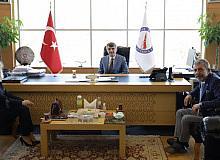 Kütahya Baro Başkanı Atam'dan Rektör Uysal'a ziyaret