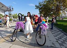 Süleymanpaşa'da Süslü Kadınlar Bisiklet Turu düzenlendi