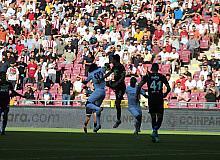 Süper Lig: A. Hatayspor: 0 - Fenerbahçe: 2 (İlk yarı)