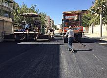 Yeşilyurt Caddesi asfaltlanıyor
