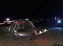 14 yaşındaki çocuğun kullandığı otomobil kaza yaptı 1 kişi öldü, 4 kişi yaralandı