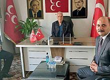 Başkan Doğru'dan MHP'li yeni başkana ziyaret