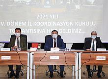 Bingöl'de il koordinasyon kurulu toplantısı yapıldı