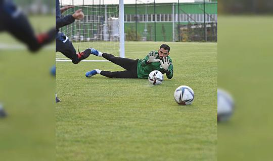 Bursaspor'un Kocaeli kampında tempo arttı