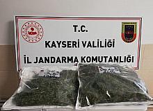 Kayseri'de 4 kilo esrar ele geçirildi