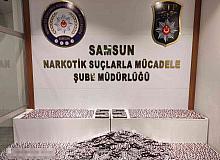 Samsun'da 14 bin 765 uyuşturucu hap ele geçti: 3 gözaltı