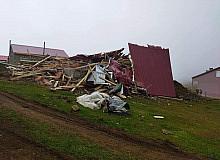 Trabzon'da yaylalarda yıkımlar yeniden başladı