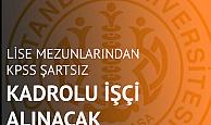 İstanbul Üniversitesi Cerrahpaşa'ya En Az Ortaöğretim (Lise) Mezunu Temizlik Görevlisi Alımı Başvuruları Sürüyor