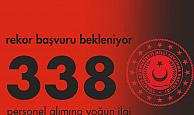 Milli Savunma Bakanlığı 338 Personel Alımı için Yoğun İlgi Sürüyor