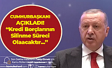 """Cumhurbaşkanı Erdoğan'dan KYK Açıklamaları Art Arda Geldi! """"Borçların Silinme Süreci Olacaktır"""""""