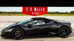 Asfalt Ağladı Be: Lamborghini Huracan Spyder'in Hız Testi Videosu