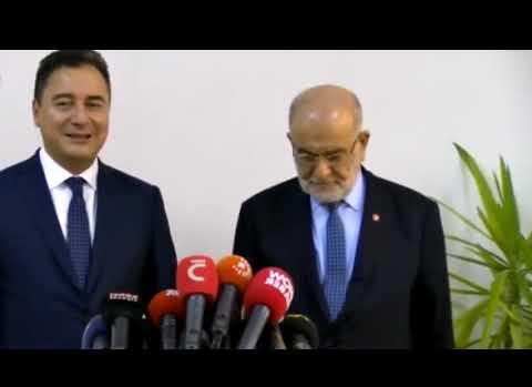 Ali Babacan'dan Yeni Parti Açıklaması: Çalışmalarımız Yoğun Şekilde Devam Ediyor
