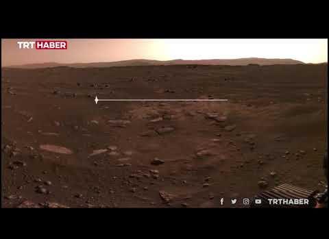 Mars'tan İlk Ses Geldi: İşte Mars Yüzeyinden Gelen Ses