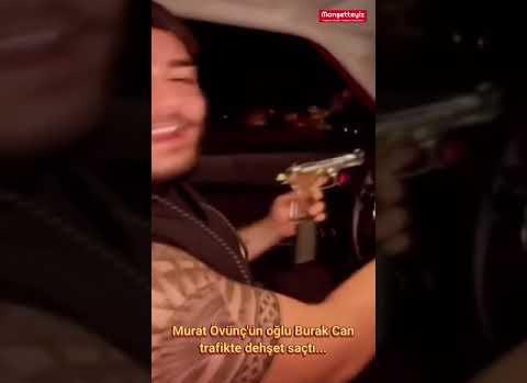 Murat Övüç'ün Trafikte Dehşet Saçan Oğlu Yakalandı
