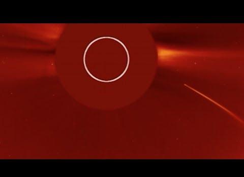 NASA Yayımladı: İşte Kuyruklu Yıldızın Güneşe Çarptığı İnanılmaz Anın Videosu