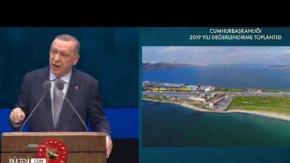 Erdoğan: Kanal İstanbul'un Maliyeti 75 Milyar Lira Olarak Belirlendi!