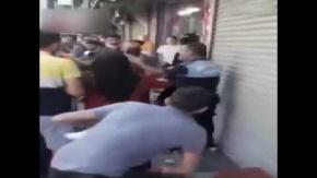 Esenyurt'ta Zabıtaya Saldırı: Sandalyeyi Kafasında Kırdı