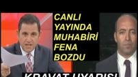 Fatih Portakal Canlı Yayında Muhabiri Bozdu