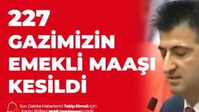 CHP'li Mehmet Ali Çelebi'den İktidara: Gazilerimizin Canını Çıkarıyorsunuz, 227 Terör Gazimizin Maaşı Kesildi