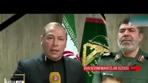 İran'lı General Canlı Yayında Gözyaşlarını Tutamadı!